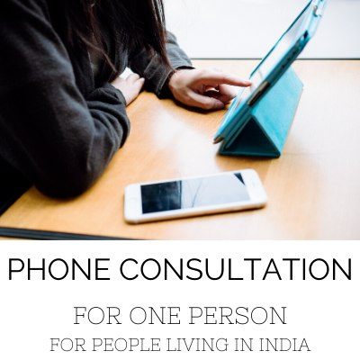Phone Consultation For People In India